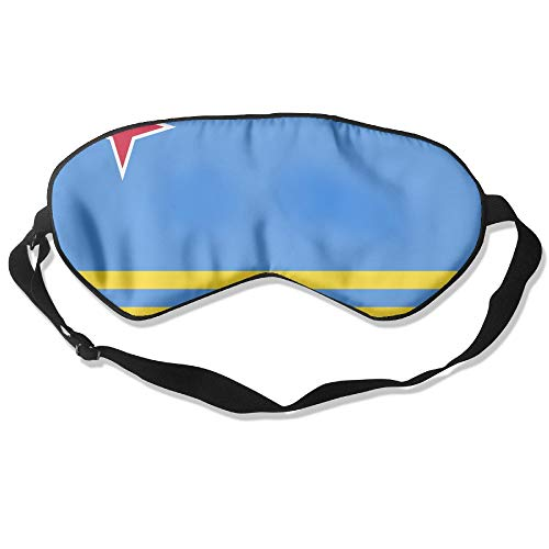 Lead-Do Aruba Flag Comfortable Sleeping Masks Blindfold Eye Shade Cover,Super-Smooth