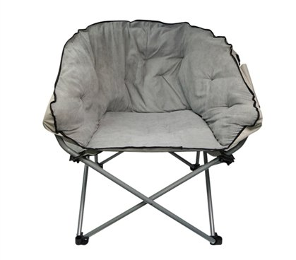Oversized Chair   Stone Gray