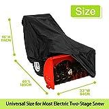 Snow Blower Cover, 600D Heavy Duty Waterproof