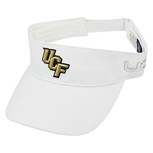 Top of the World Central Florida Knights Official NCAA Adult One Size Caliber One Fit Embroidered Visor Hat 033598 ()
