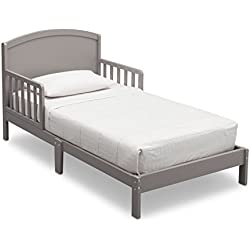 Delta Children Abby Toddler Bed, Grey