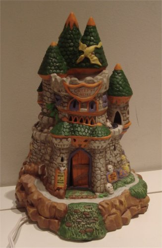 Lighted Halloween Creepy Hollow Creepy Castle