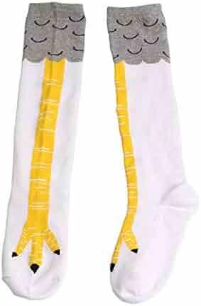 1fa55f1dec29 Novelty Stockings for Women, Turkey Legs Print Basics Breathable Crew Socks  Funny Slipper Socks Only