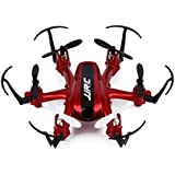 E-SCENERY JJRC Mini Remote Control 2.4G 6-Axis Gyro 4CH 3D Flip Quadcopter, RC RTF Micro Nano Drone, USB Rechargeable Battery, Without Camera