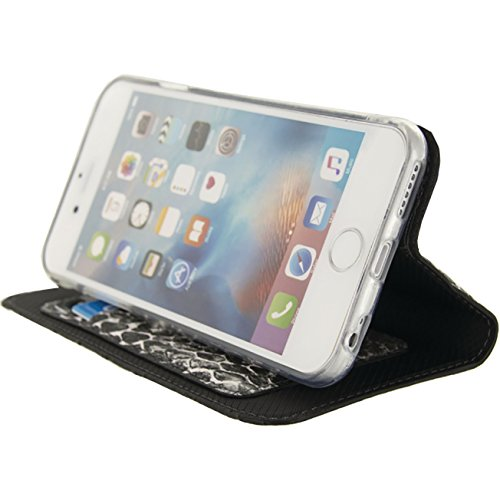 Etui de protection pour telephone SE Premium Gelly Book Case Apple iPhone 6 / 6s Noir