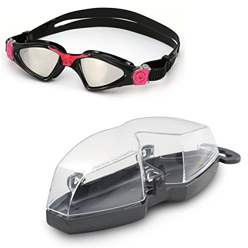 Aqua Sphere Kayenne Ladies with Mirrored Lens (Black/Pink) Swim Goggles for Women. by Aqua Sphere (Image #10)