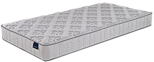 Home Life Harmony Sleep 8'' Pocket Spring Luxury Mattress, Twin, White by LIFE Home