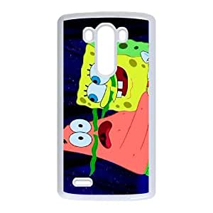 Personalized Durable Cases LG G3 White Phone Case Fgttb Movie Spongebob Protection Cover