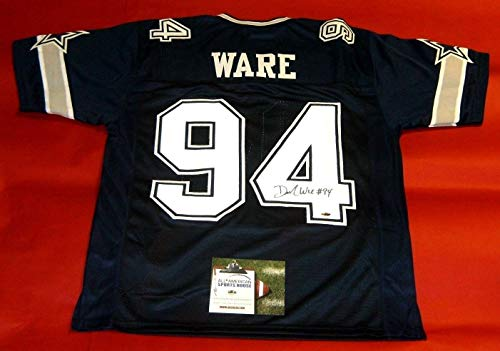 DEMARCUS WARE AUTOGRAPHED DALLAS COWBOYS DS JERSEY AASH ()