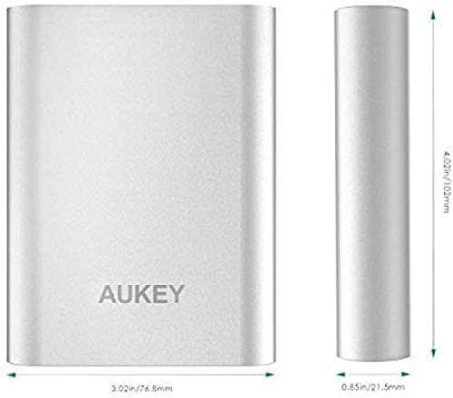 AUKEY 10050mAh Portable Charger with Qualcomm Quick Charge 3.0