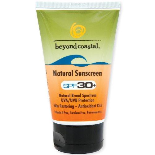 Antioxidant Titanium Sunscreen (Beyond Coastal Natural SPF 30 Sunscreen (4-Ounce))