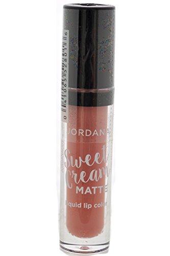 Jordanan Sweet Cream Matte Liquid Lip Color Lipstick #01 Crème Brulee ( Pack of 3 )