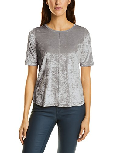 Gris Para Mujer One Street Grey lunar 10821 Camiseta wqEIwdt