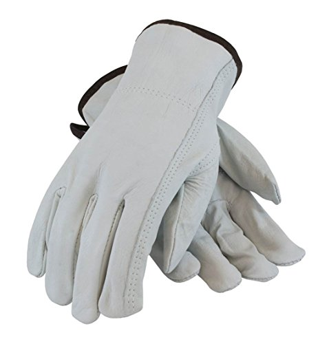 (PIP 68-163/XL Regular Grade Top Grain Cowhide Leather Driver's Glove, Keystone Thumb (1 Dozen))