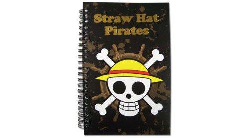 One Piece - Straw Hat Pirates Skull Notebook