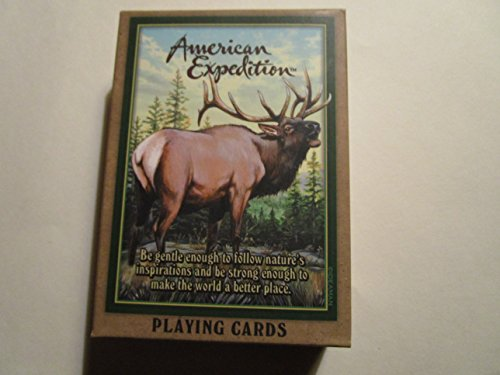 American Expedition Playing Cards - Elk