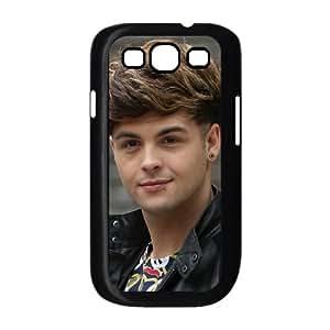 Union J 004 Samsung Galaxy S3 9300 Negro de la cubierta del teléfono celular de la cubierta del caso EVAXLKNBC05225