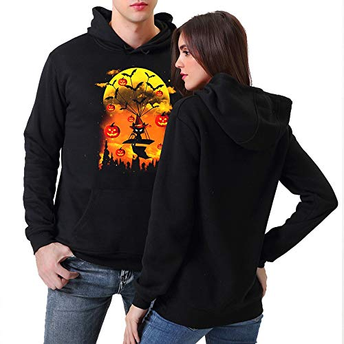 MEANIT Halloween Costumes Long Sleeve Hoodies ()