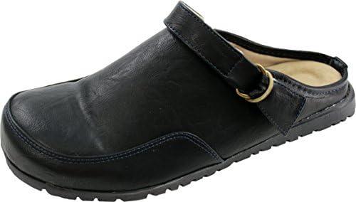 (ペニーレイン) PENNY LANE 6001B メンズ サボ サンダル (L[26.0cm-26.5cm], BLACK(ブラック))