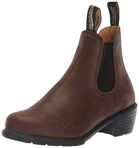 Blundstone Women's Heel Series Boot, Antique Brown Leather (5.5 UK)