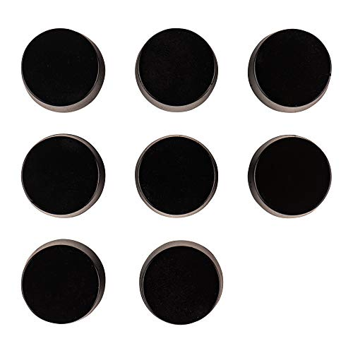 """8 Pack Sorbothane Vibration Isolation Circular Disc Pad 0.25/"""" Thick 1.5/"""" Dia"""