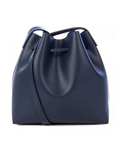Mujer Hombro Azul 42310BLUEFONCE PARIS De Cuero LANCASTER Bolso FHf5w5