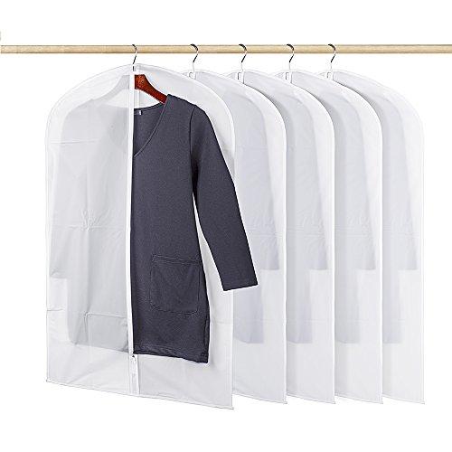 Titan Mall 39-Inch Garment Bag Translucent 23