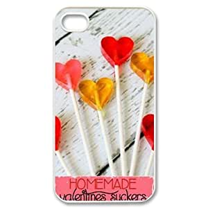 Lollipops CUSTOM Cover Case for iPhone 4,4S LMc-22416 at LaiMc