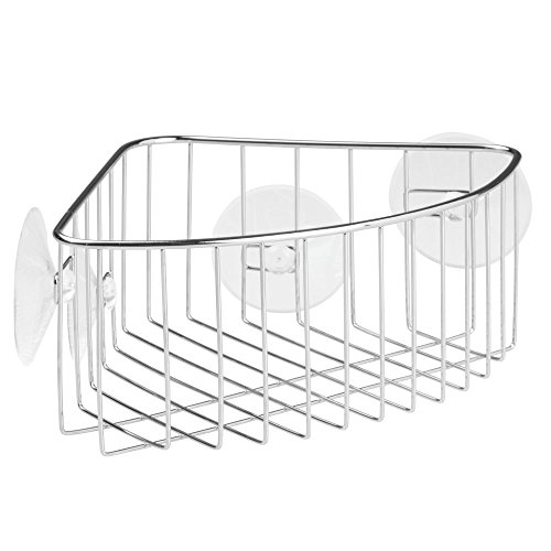 InterDesign Rondo, Suction Bathroom Show - Suction Corner Shelf Shopping Results
