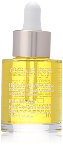 Clarins Blue Orchid Face Treatment Oil for Unisex, 1 Ounce