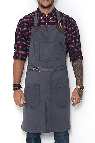 leather apron split - 3
