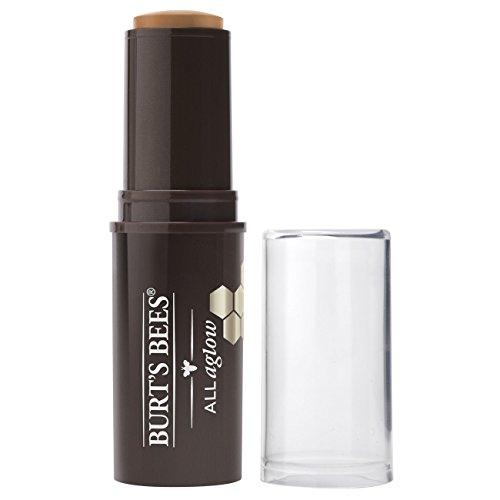 Burt's Bees 100% Natural All Aglow Bronzer Stick, Golden Shimmer – 0.3 Ounce