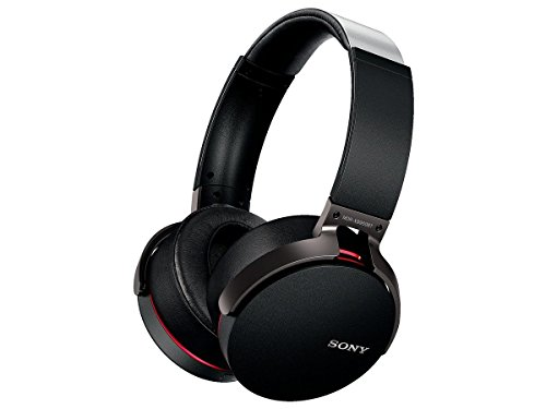 Sony MDR-XB950BT/B Extra Bass Bluetooth Wireless Headphones w/Microphone - Black (Certified Refurbished)