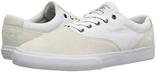 Emerica PSV x Hard Luck Blanc Chaussures