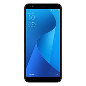 "ASUS ZenFone Max Plus ZB570TL-MT67-3G32G-BL – 5.7"" 1920×1080-3GB RAM – 32GB storage – LTE Unlocked Dual SIM Cell Phone – US Warranty – Silver"
