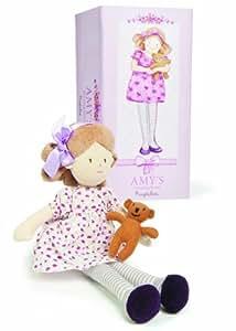 Ragtales Amy's Dressing Room - Muñeca de trapo con habitación y accesorios
