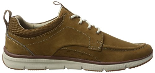 Clarks Nubuck Sneakers Marron tan Bay Basses Homme Orson 08qrPwg0