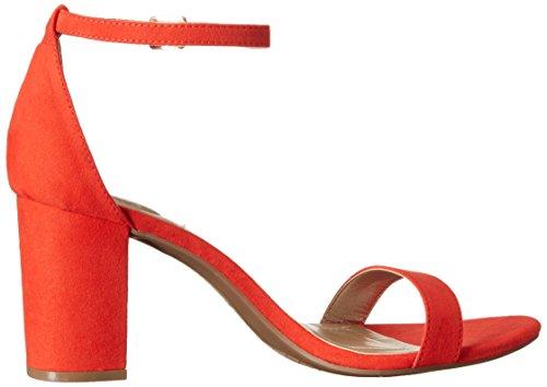 Bandolino Women's Armory Heeled Sandal, Pink Multi, US Persimmon