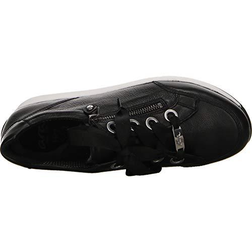 Ara 1234587 schwarz Osaka Mujer Zapatillas 01 Negro Para ZZrP6