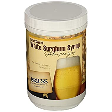 BriessSweet White Sorghum Gluten -Free Syrup, 3.3 lb.