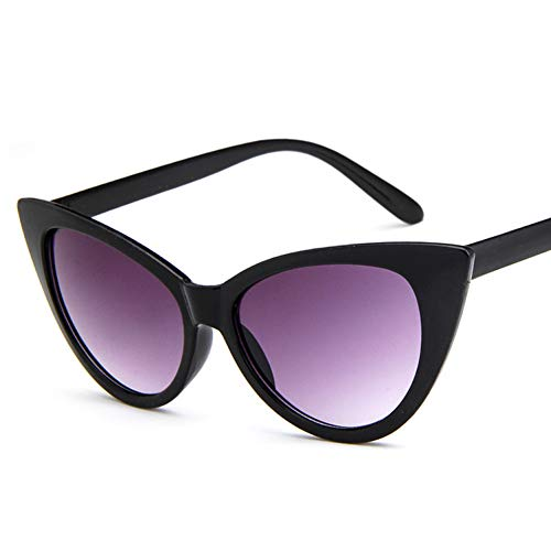 - XYYANJING Cat Eye Women Sunglasses Men Vintage Shaped Sun Glasses Female Eyewear Sunglasses