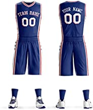 Custom Men Women Youth Basketball Jerseys Athletics Sports Shirt and Shorts Personalized Printing Name and Num