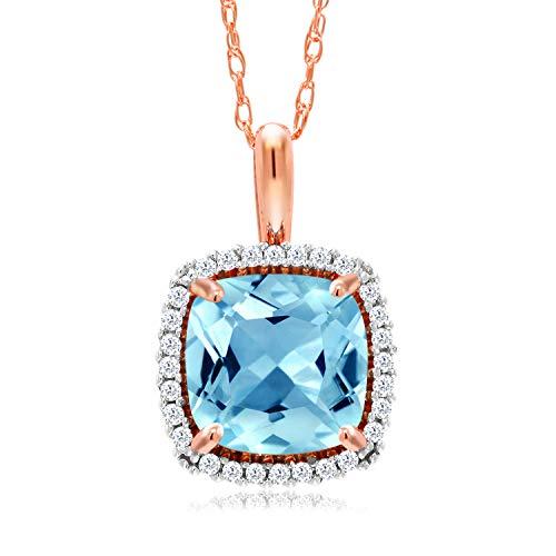 David Yurman Blue Topaz Necklace - 6