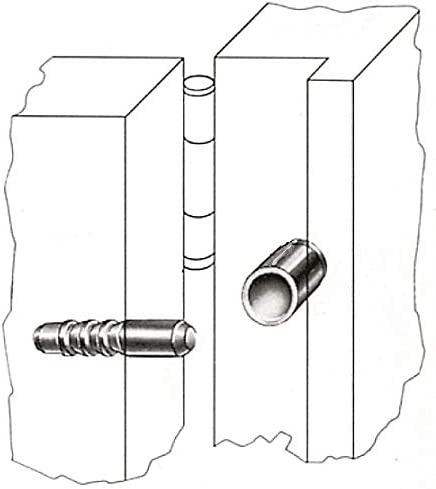 T/ür Fenster Einbruchschutz T/üraushebesicherung Scharnierseitensicherung Stahl