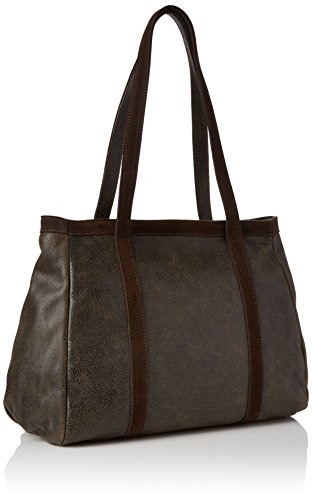 Timberland - Tb0m5503, Shoppers y bolsos de hombro Mujer, Marrone (Chocolate Brown), 14x29x36 cm (W x H L)