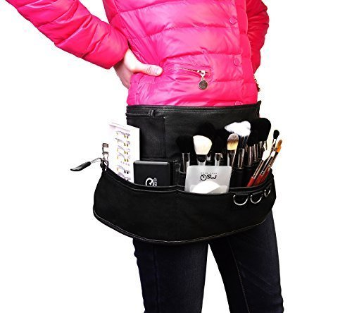 LOUISE-MAELYS-Professional-Makeup-Artist-Apron-Bag-Cosmetic-Brush-Fanny-pack-Belt-Strap-Holder-by-NA