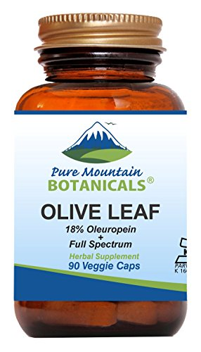 Olive Leaf Extract Capsules – 90 Kosher Vegan Caps Now with 400mg Organic Olive Leaf and Potent Extract Review