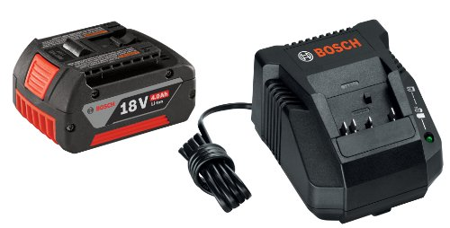 Bosch SKC181-101 18-Volt Lithium-Ion Starter Kit with (1) 4.0 Ah Battery and Charger ()
