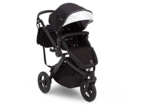Jogging Stroller | All Terrain Baby Jogger | Sport Utility | JPMA Safety Certified | J is for Jeep Brand | Black on Black Frame