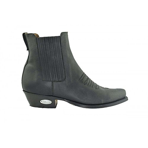 LOBLAN 298 Größe 46 Loblan Boots 298 black Westernstiefel Ankle Stiefeletten Damen und Herren schwarz Biker stiefe